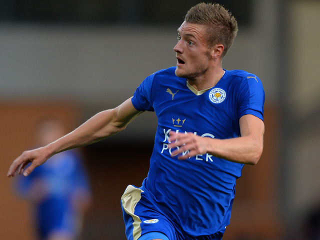 Jamie Vardy will be a key figure as ever as Leicester look to remain unbeaten under Craig Shakespeare