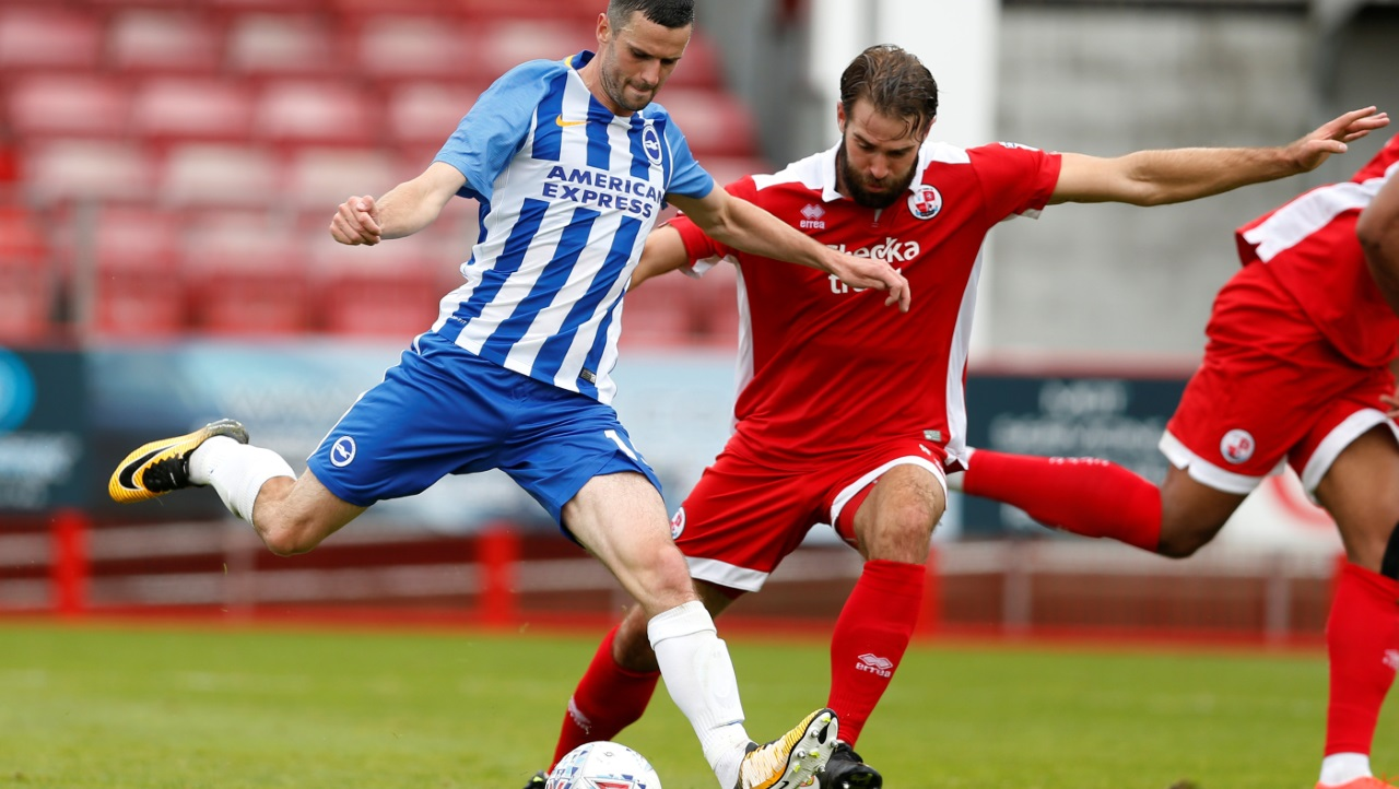 Joe McNerney has helped make Crawley Town solid at the back