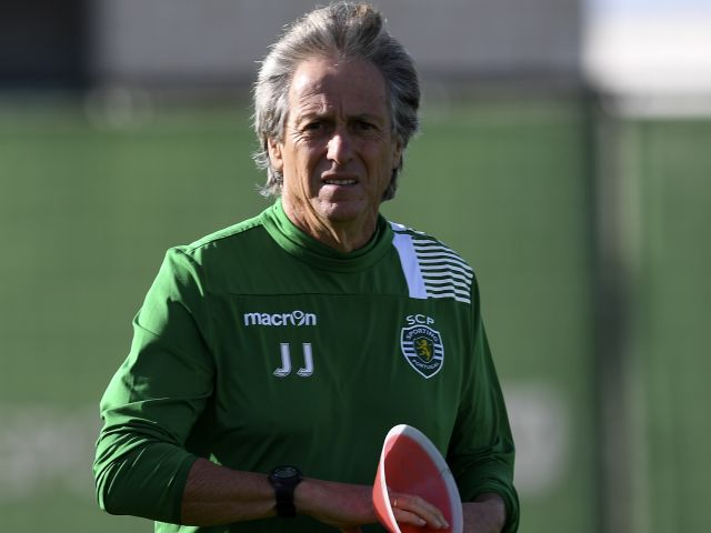 Jorge Jesus is enduring an uncomfortable spell at Lisbon giants Sporting