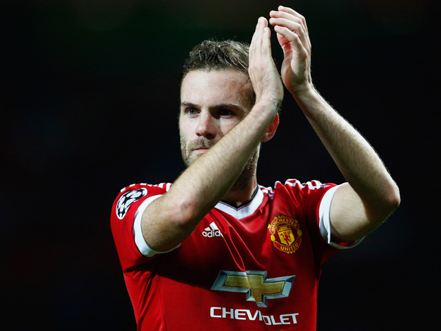 Juan Mata was Manchester United's match winner against neighbours City on Wednesday night