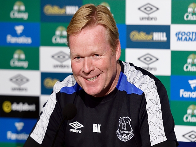 Ronald Koeman hasn't been smiling much in the last fortnight