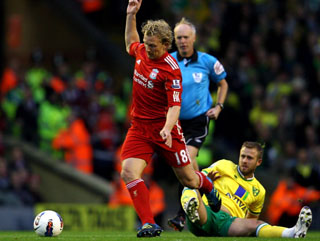 Dirk Kuyt has been extremely consistent at Liverpool but he's yet to win a trophy