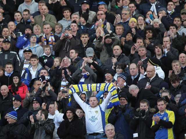 The Whites will need plenty of noise at Elland Road.