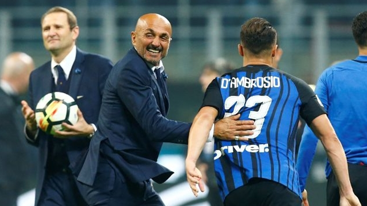 Luciano Spalletti was delighted with his team's Milan Derby win last weekend