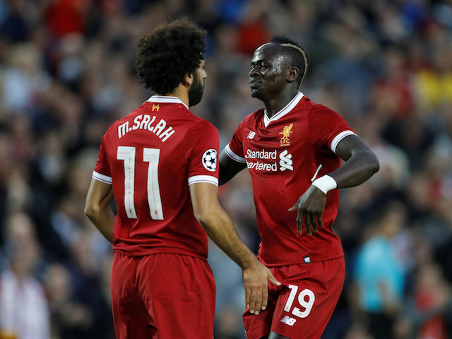 Sadio Mane is out, but Mo Salah will still be a big threat when Liverpool host United on Saturday
