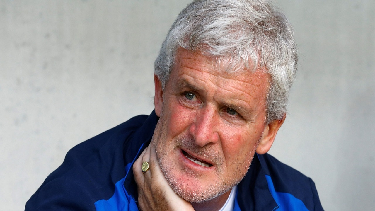 Mark Hughes's Stoke side are starting a run of easier fixtures after their tough start