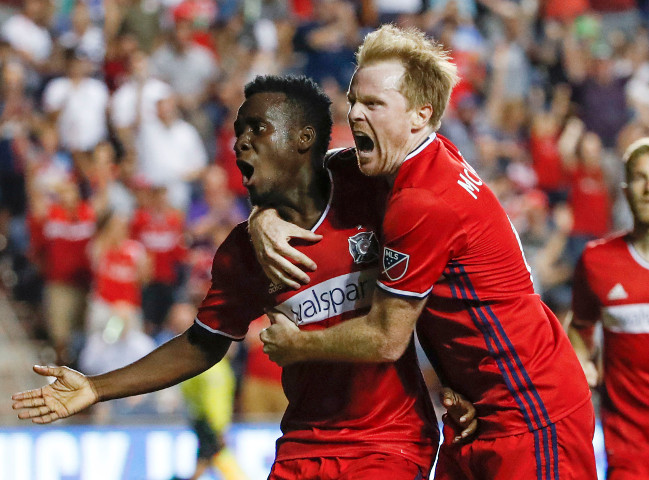 Chicago Fire star Dax McCarty could get a nasty surprise from his former Red Bull teammates