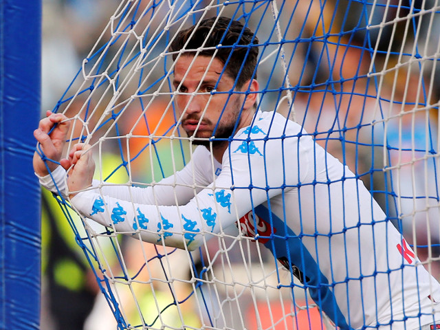 Dries Mertens just can't help hitting the back of the net for Napoli at the moment