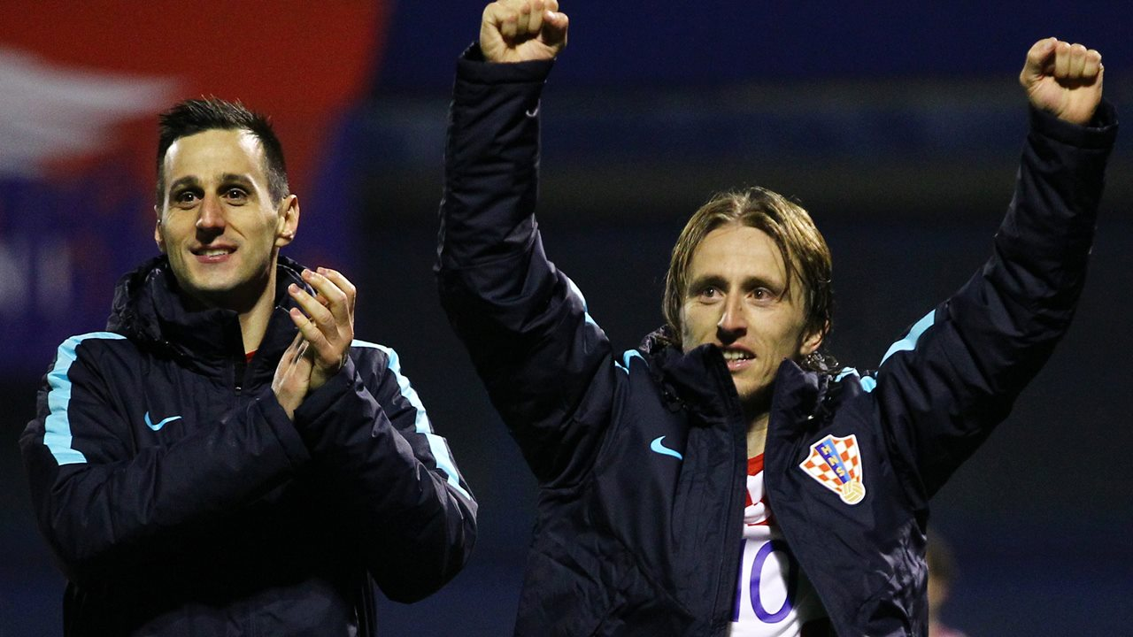 Croatia's attacking stars were dominant in the first leg