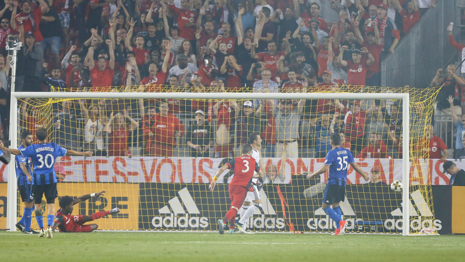 It should be another dramatic Canadian derby between Toronto FC and Montreal Impact