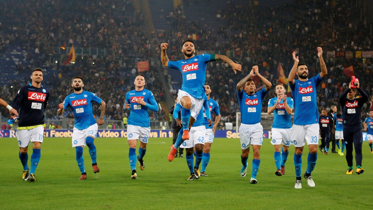 Napoli have been in devastating form this season