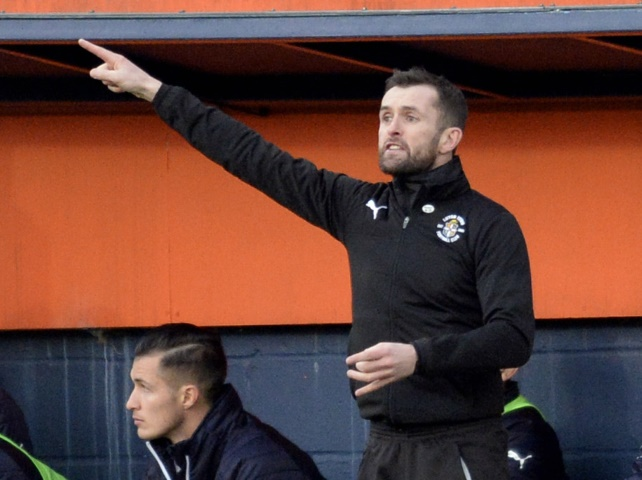 Nathan Jones has one message for his Luton team this season - we're going up