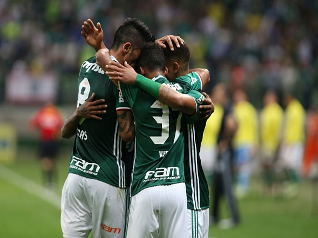 Palmeiras romped to the title last season