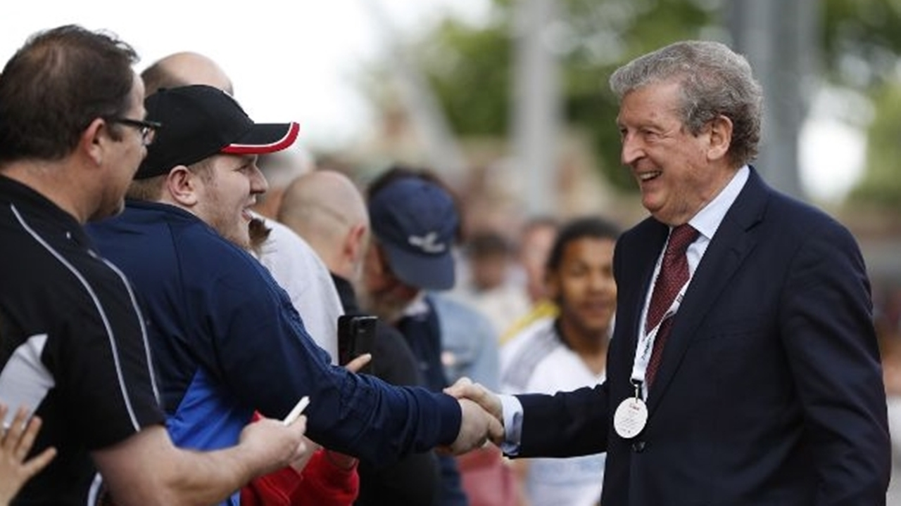 Roy Hodgson deserves another medal if he can keep Crystal Palace up