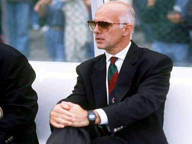 Not bad for a former shoe salesman. Arrigo Sacchi (pictured in his Parma days) was the last manager to win back-to-back European Cups