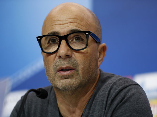 Sevilla manager Jorge Sampaoli is the early favourite