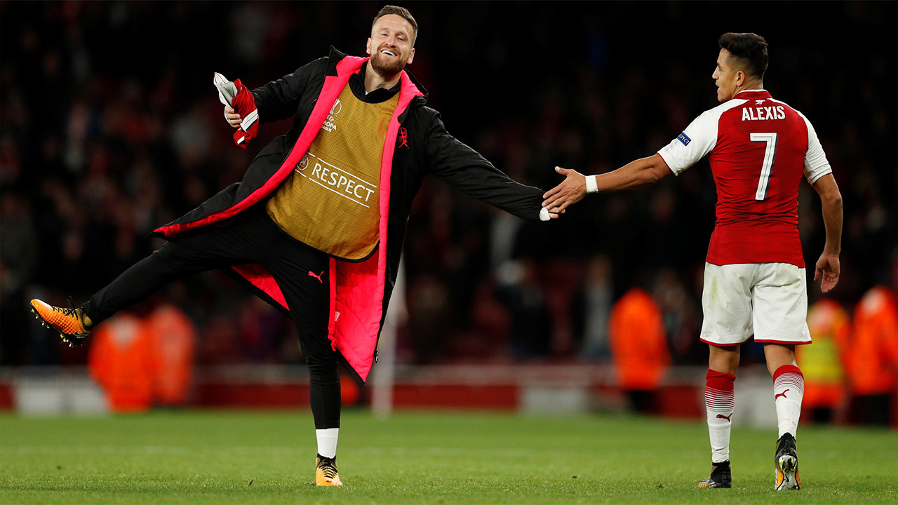Arsenal triumphed at the Emirates in the North London Derby