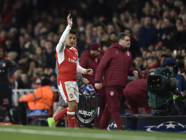 Could this be Alexis Sanchez's Arsenal farewell?