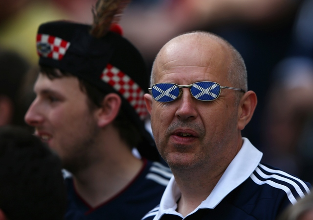 There'll be so many fireworks in Scotland tonight that we'll need sunglasses