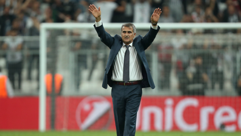 Will Senol Gunes be celebrating after the match between Besiktas and Porto?