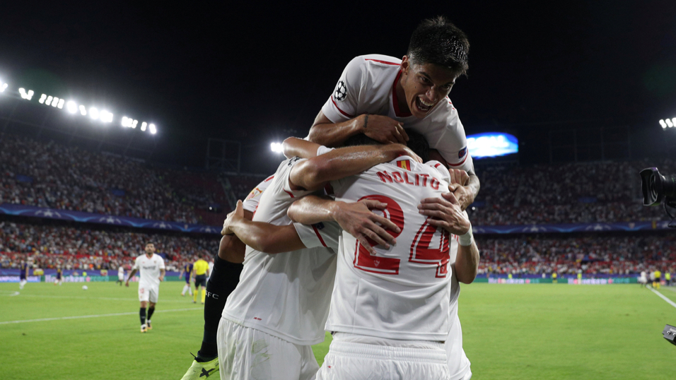 Will Sevilla be celebrating after their match with Spartak Moscow?