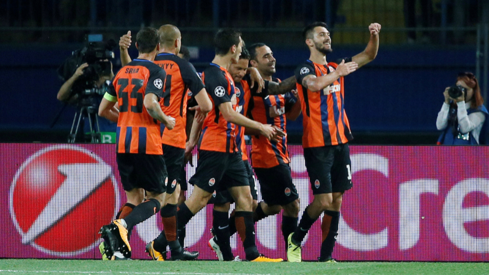 Wil Shakhtar be celebrating after their match with Feyenoord?