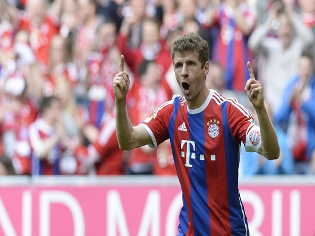 Thomas Muller is having one of his best ever seasons