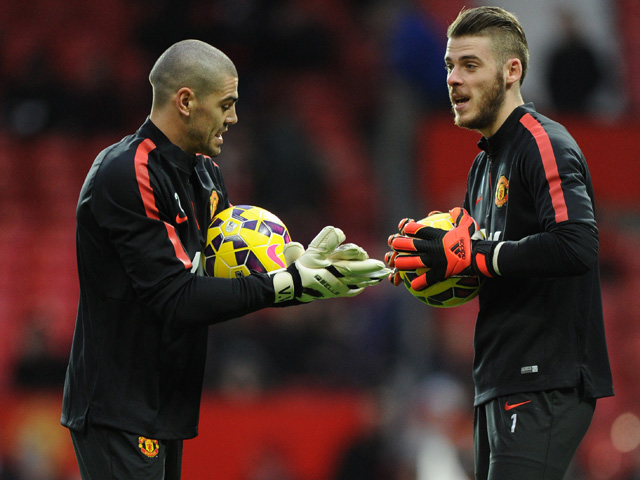 Victor Valdes will leave Manchester United whilst David de Gea is staying