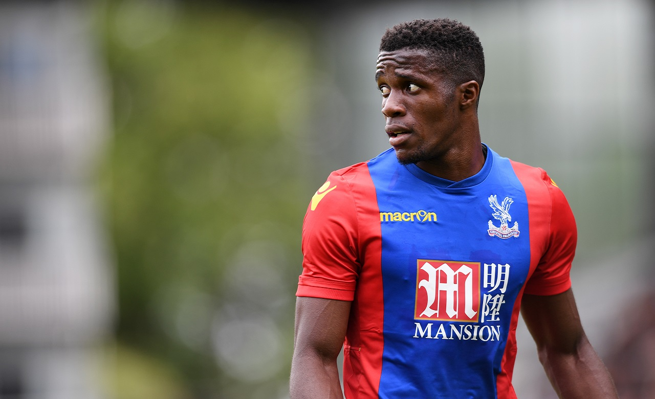 Wilfried Zaha has scored in each of Palace's two home games since his return from injury