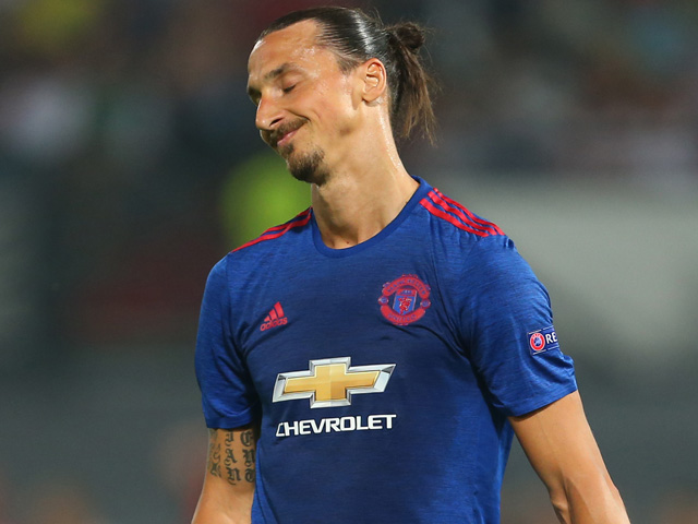 Ibrahimovic is in for a tough afternoon against Henderson