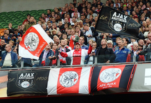 Ajax fans will hopefully be proud of the club's youngsters tonight