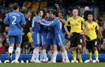 Chelsea breezed past Watford in emphatic fashion in the third round, and there's no reason to suggest why they can't do the same here.