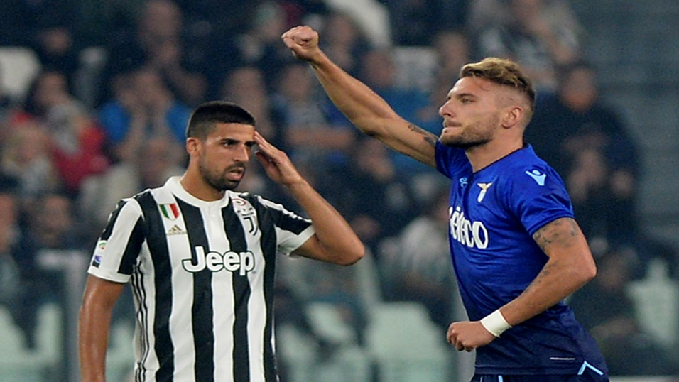 Ciro Immobile led Lazio to victory at Juventus