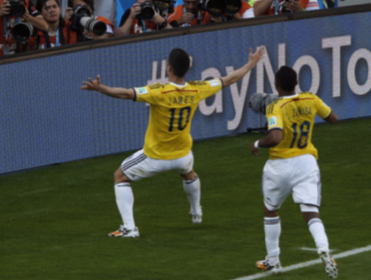 Will Colombia be celebrating after their match with Uruguay?