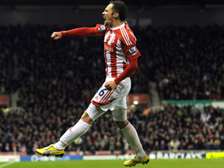 Stoke winger Matthew Etherington has a tendency to punish his former club