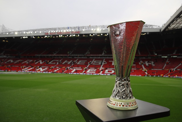 The Europa League trophy will either go to Ajax or Manchester United