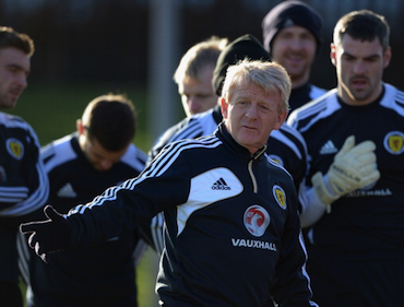Strachan must make do without Scott Brown