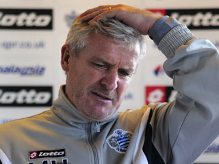 Mark Hughes has claimed just one Premier League win as QPR boss