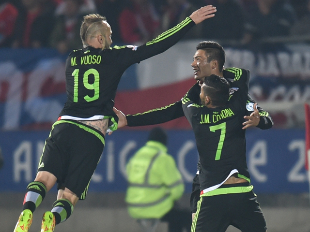 Mexico could be jumping after tonight's Confederations Cup semi-final
