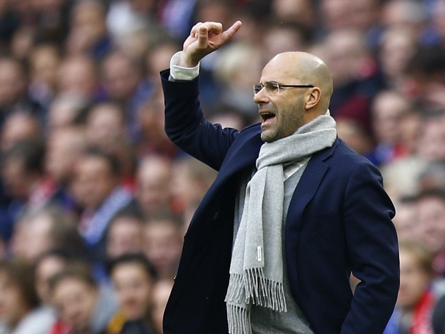 Ajax head coach Peter Bosz has assembled an exciting but youthful side