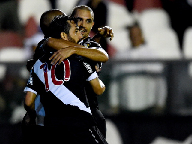 Vasco da Gama have scored 11 of their 15 goals at home