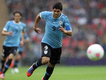 Luis Suarez will play upfront, with Edinson Cavani behind