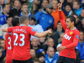 Javier Hernandez is pushing for a starting spot after scoring four in four
