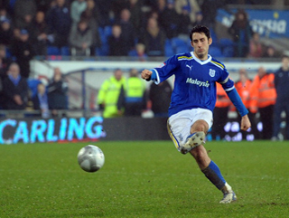 Peter Whittingham is Cardiff's key player in midfield