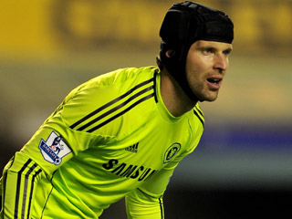 Petr Cech has been forced to pick the ball out of his net at an alarming rate