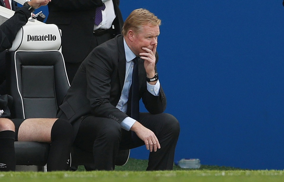 These are worrying times for Everton and Ronald Koeman