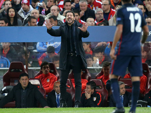 Simeone's Atletico are arguably in the strongest position to win the tournament.