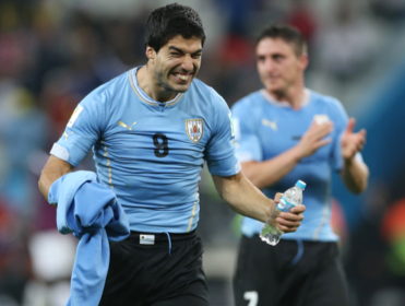 Will Luis Suarez and Uruguay be celebrating after their match with Italy?