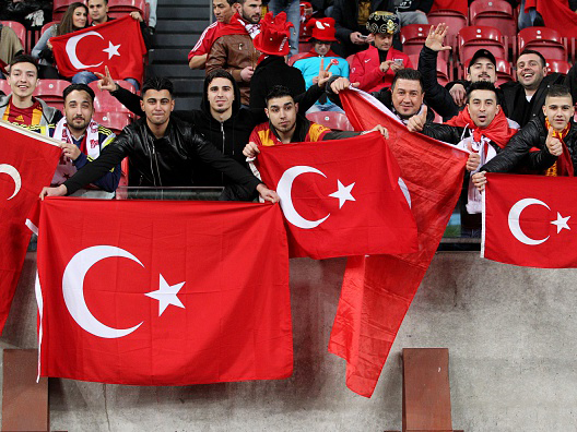 We're hoping to be delighted in Turkey tonight