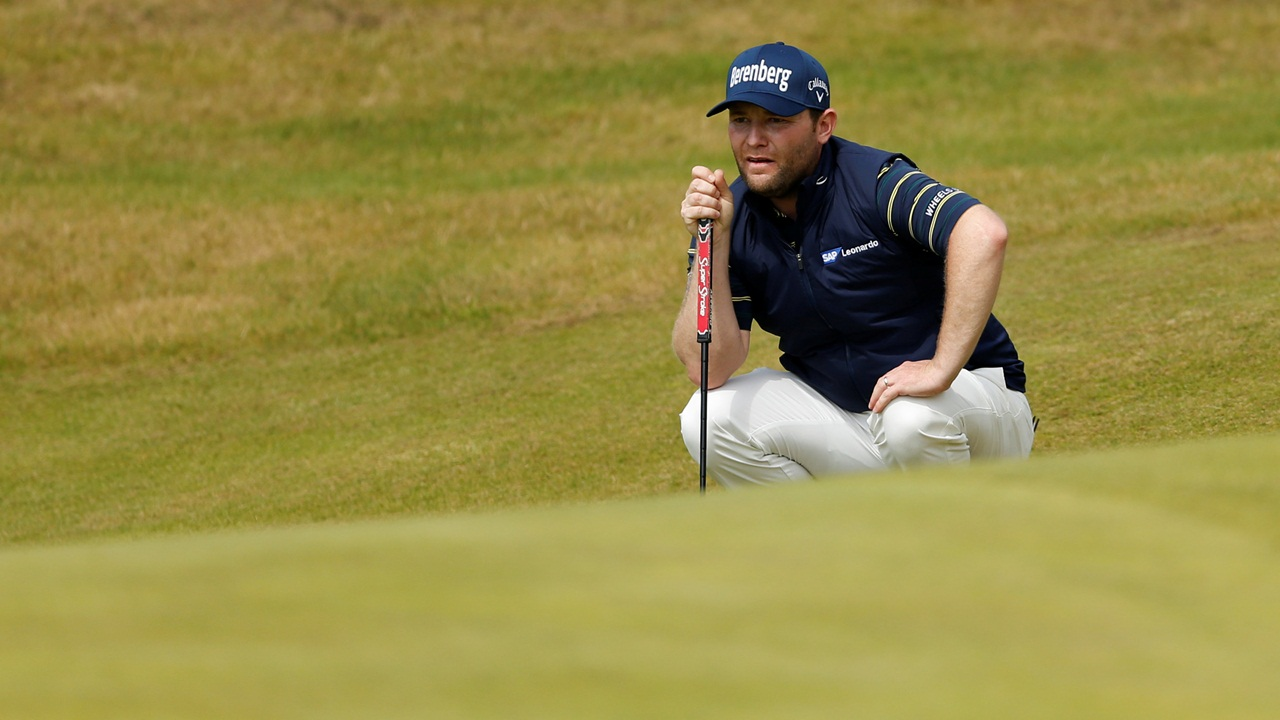 Branden Grace – the winner of this year's Nedbank Golf Challenge